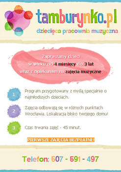 Ulotka Tamburynko.pl