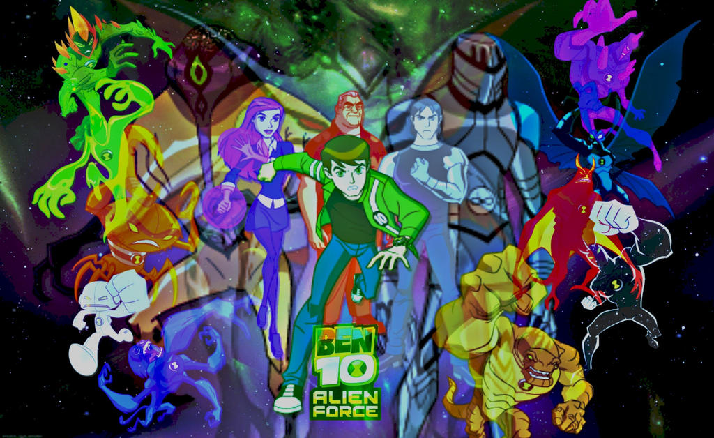 Ben 10 alien force wallpaper by cosmicblaster97 on deviantart ben 10 alien force wallpaper by cosmicblaster97 voltagebd Image collections