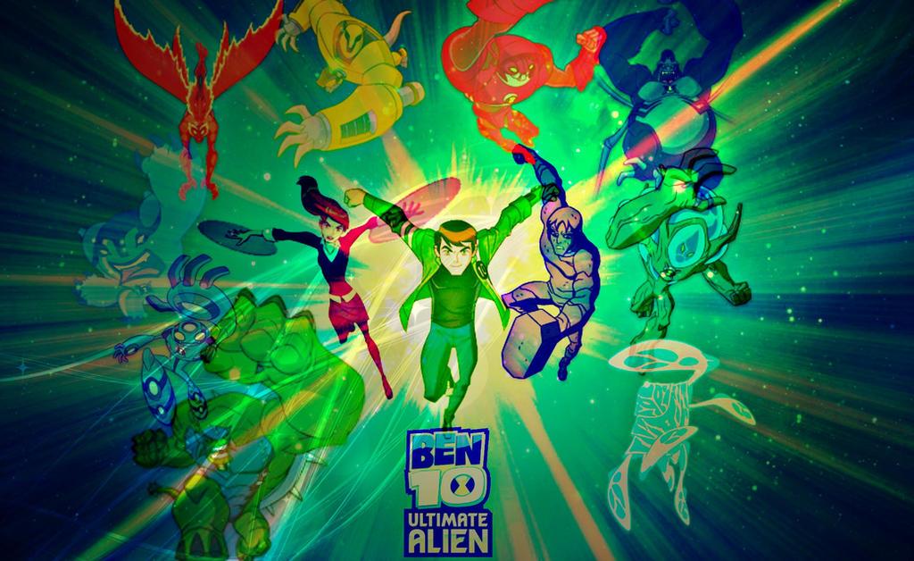 Ben 10 Ultimate Alien Wallpaper By Cosmicblaster97 On