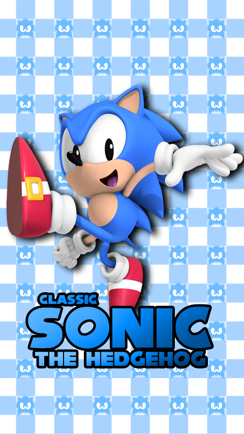 Classic Sonic Phone Wallpaper By Cosmicblaster97 On Deviantart