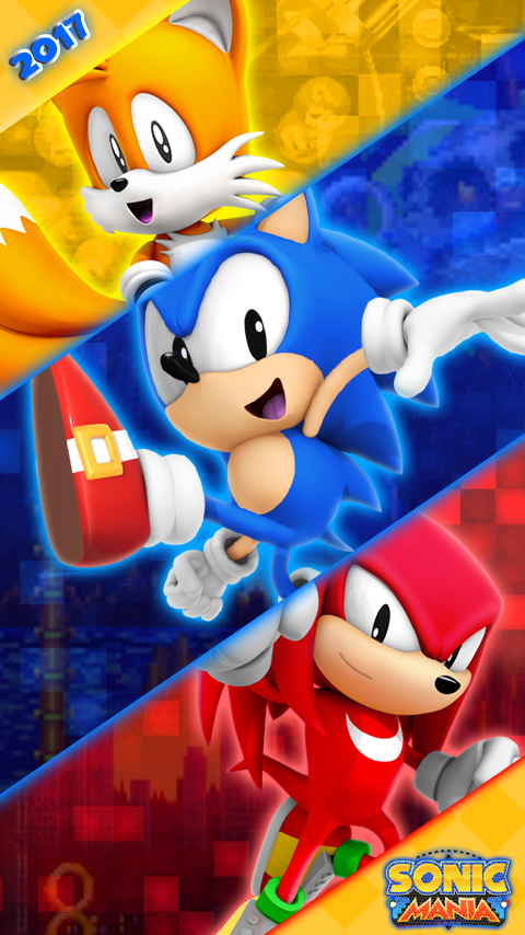Sonic Mania Phone Wallpaper By Cosmicblaster97 On Deviantart
