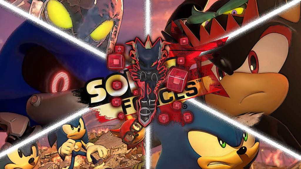 Sonic Forces Villians Wallpaper by CosmicBlaster97