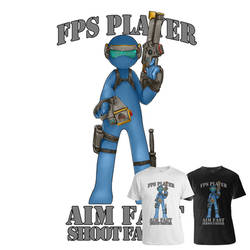 Gamer - FPS Genre (Tee Sample2)