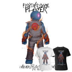 Gamer - Fighting Game Genre (Tee Sample2)