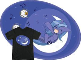 Singing On The Moon - Tee Sample