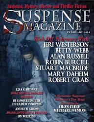 Suspense Magazine Cover