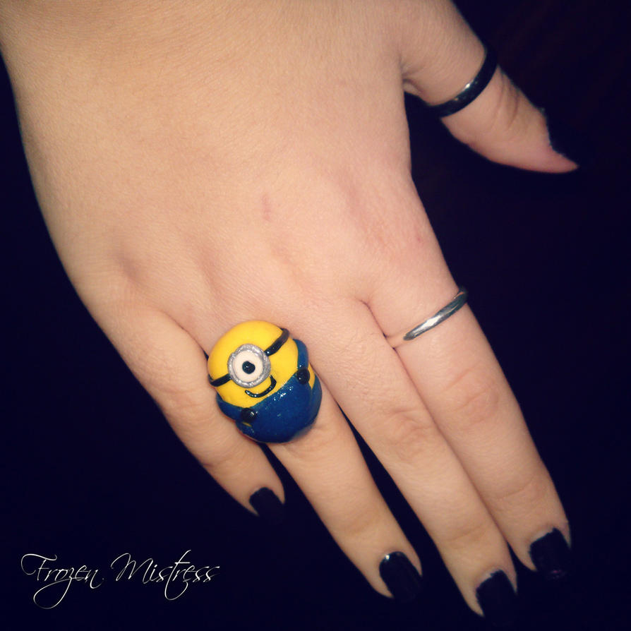 Despicable Me - Minion Ring by frozenmistress on DeviantArt