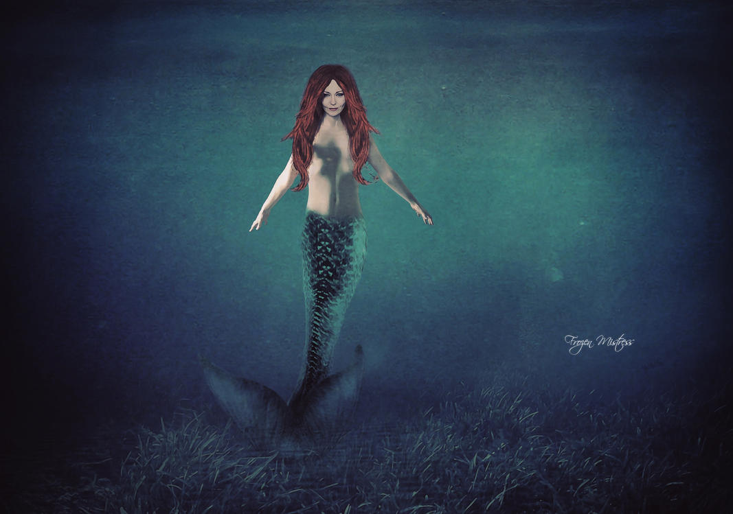 Anneke Van Giersbergen As Siren by frozenmistress