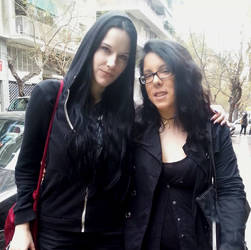 With Heike Langhans