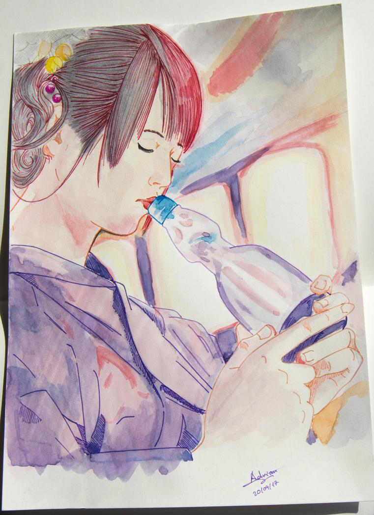 watercolor by Bozakchidori