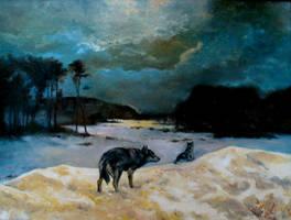 Wolves by RMroczek