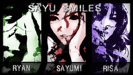 Sayu Smiles Full Wallpaper FULL HD Standard