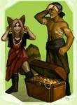Tarra and Pirate