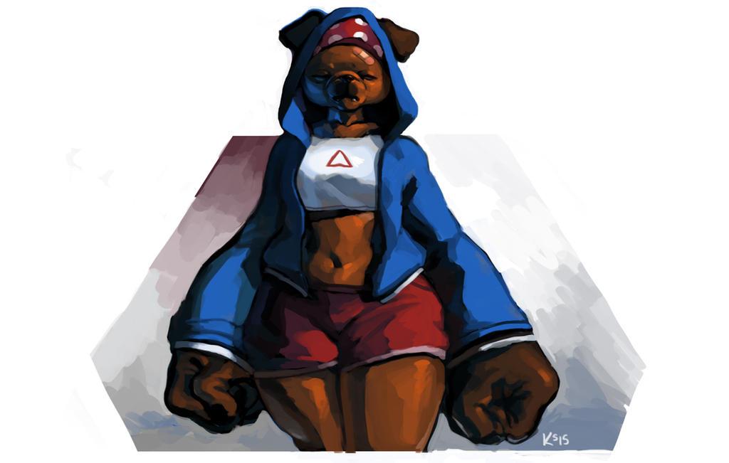 Dog by do-po