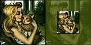 Minthe and Ophelia by do-po