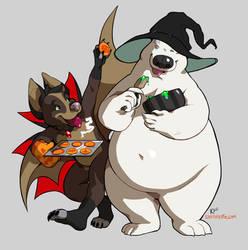 Halloween Treats by do-po
