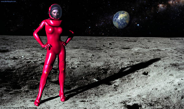 The Girl in the Red Spacesuit #2