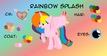 Rainbow splash reference sheet1 2017-INFO IN DISC