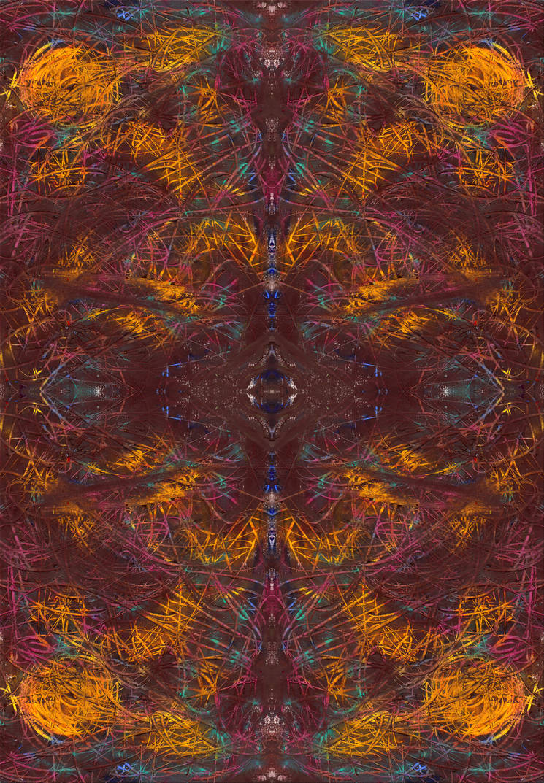 saturn's turning pattern - by sdthoart