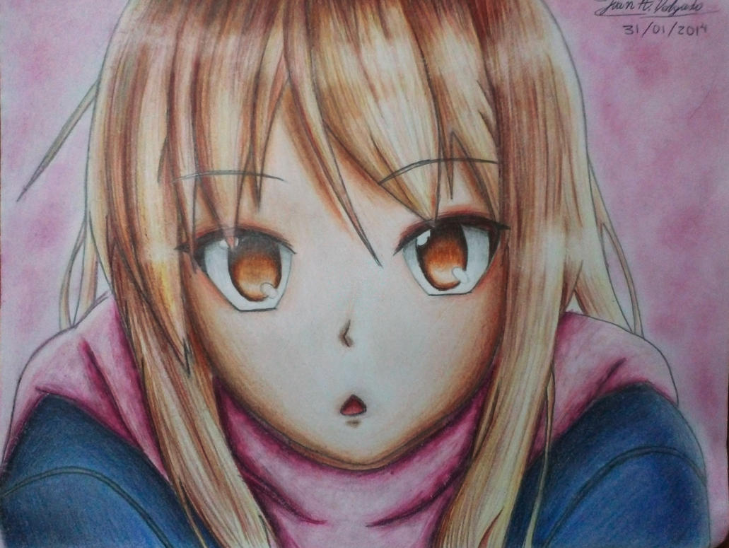 Mashiro Shiina - Shining Face by XReithyemX