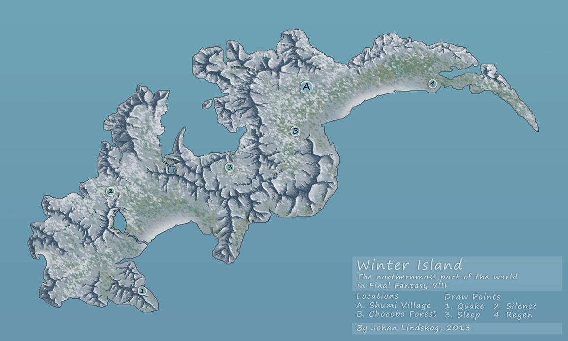 Ff8 winter island by centralsky on deviantart ff8 winter island by centralsky gumiabroncs Image collections