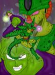 Piccolo vs Cell 1st Form