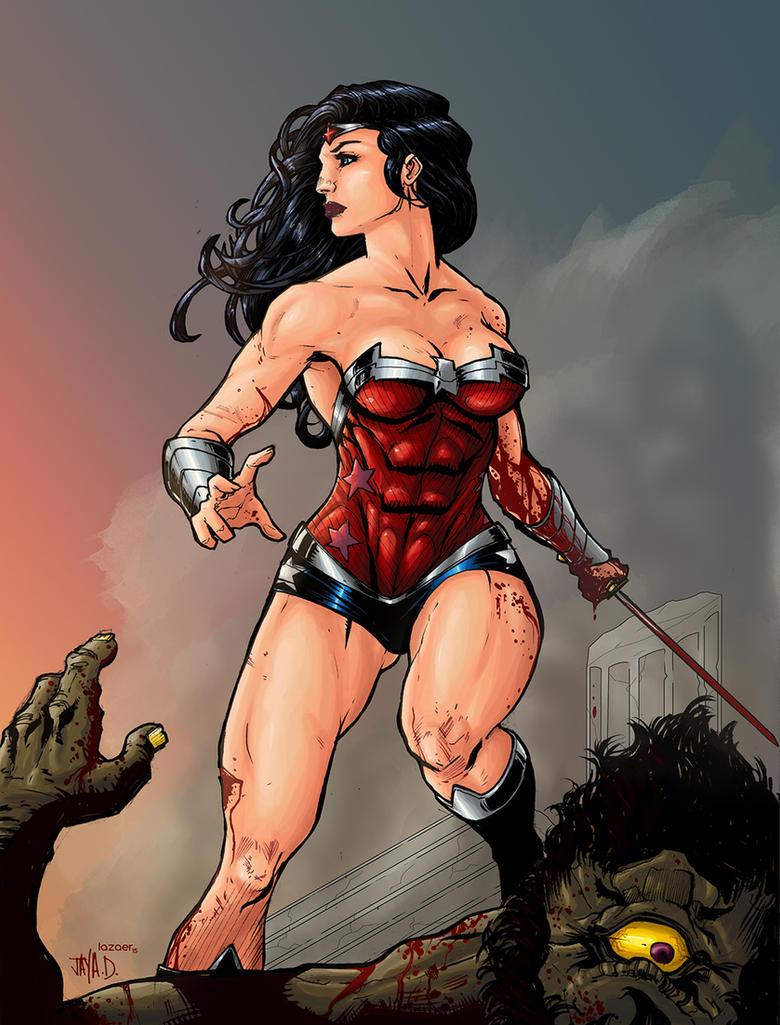 Wonder Woman by Lazaer