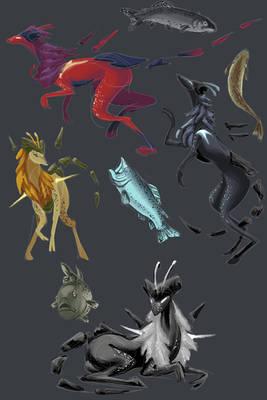 Color Experiment Illustrations