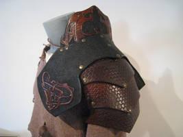 Leather work 58 detail 1 by HamraBDG