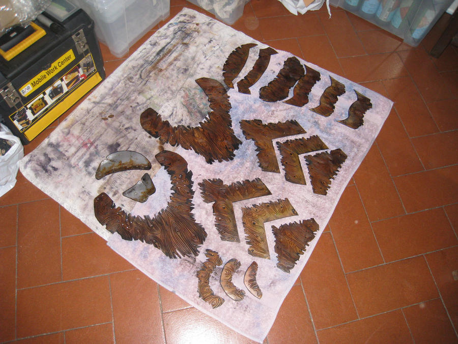 Leather work 92 - 3 by HamraBDG