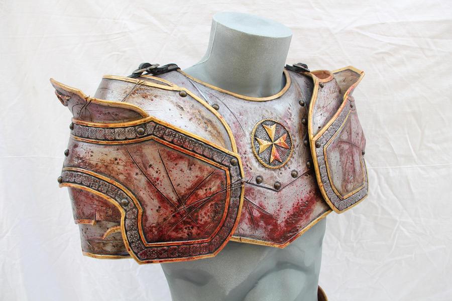 Leather work 114 - 15 by HamraBDG