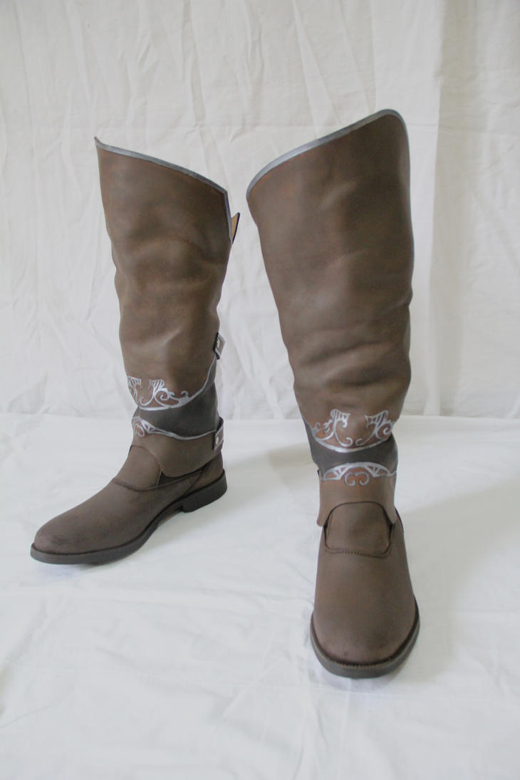 Assassin's Creed Revelations - Ezio boots by HamraBDG