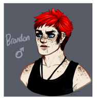 Brandon / Redesign by GreaserDemon
