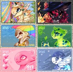 2021 Nebnom Stamps
