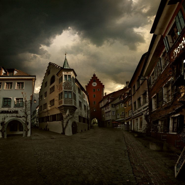 Meerseburg's street by Alcove