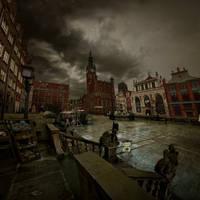 Gdansk deszczowa pora