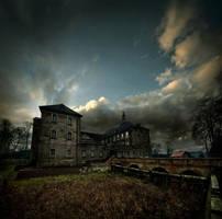 Palac w Zaborze by Alcove