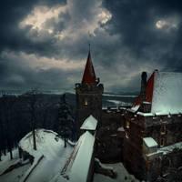 Grodziec Castle by Alcove