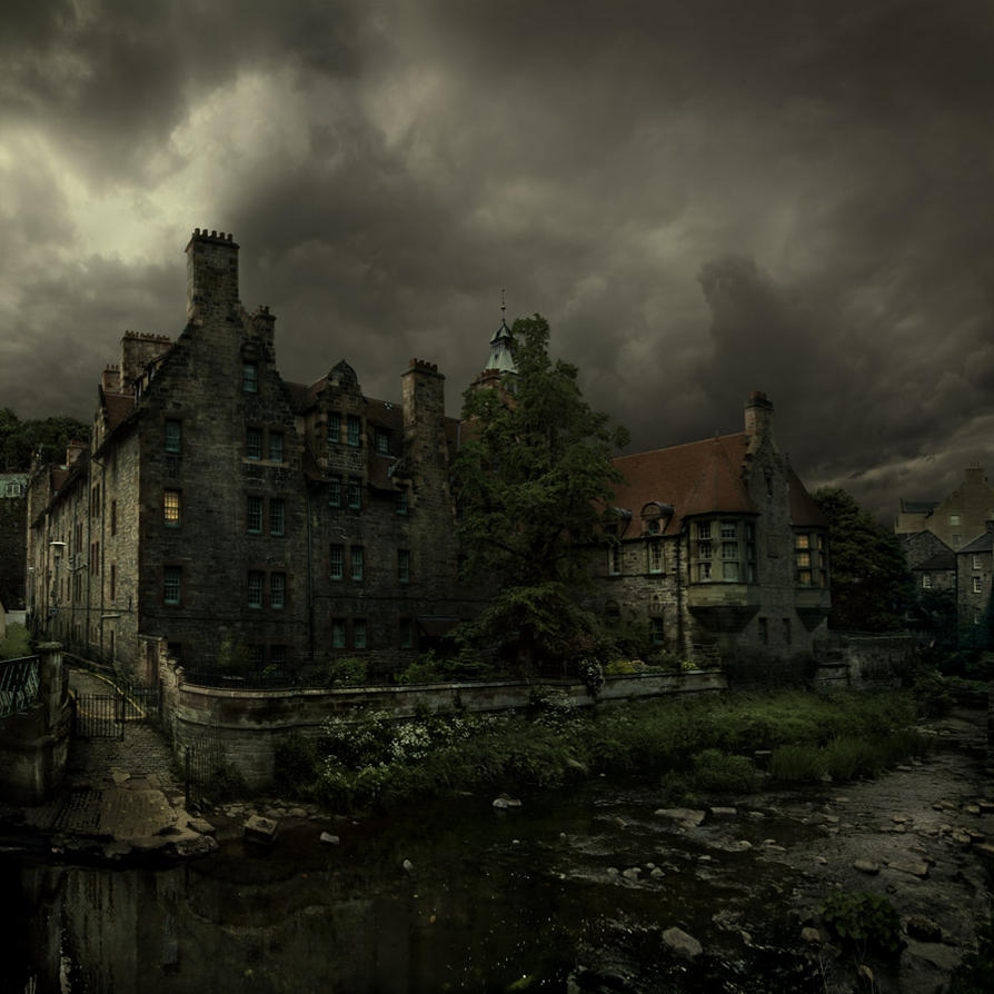 The dean village town by alcove on deviantart for Village town