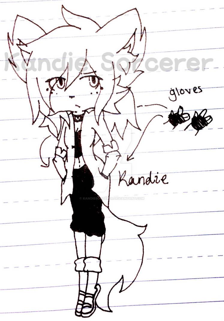 Rough sketch   Kandie's new design