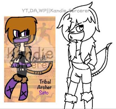 REMAKE  Tribal archer seto