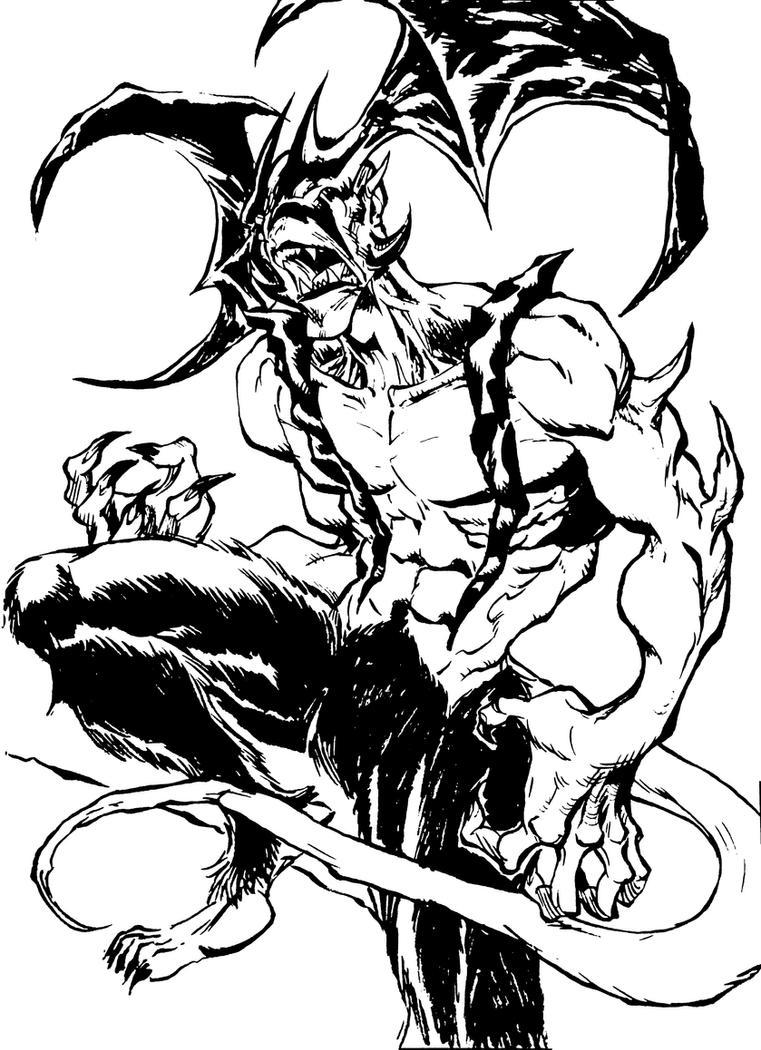 Devil by JayOntiveros