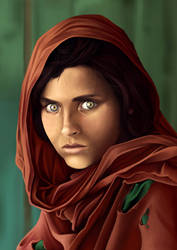 +Afghan_Girl+ by Aadira