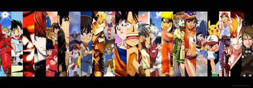 My Favorite Animes by EgzonNikqi