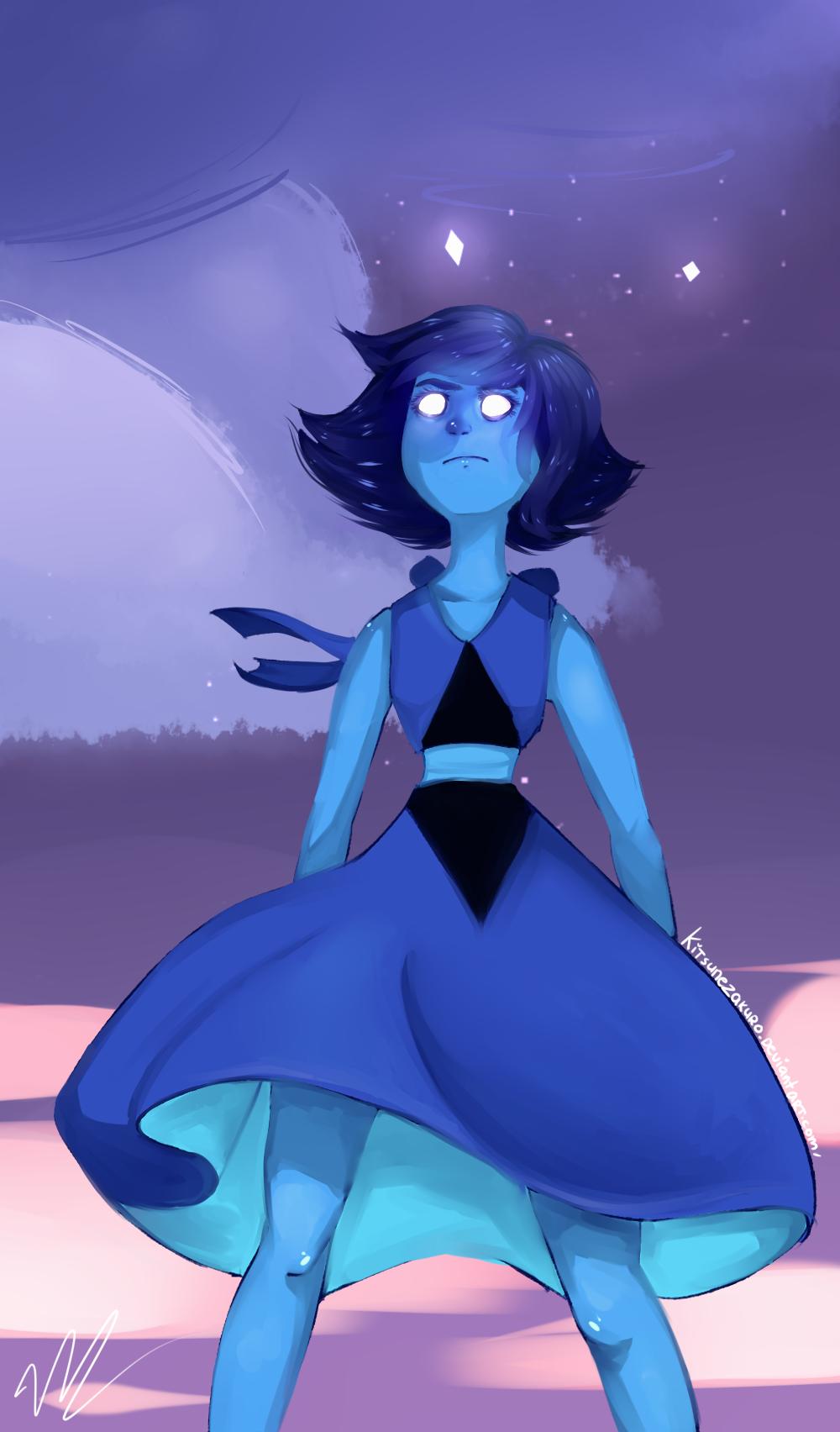 steven universe lapis lazuli by kitsunezakuro on deviantart
