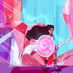 Warrior Stevonnie|Steven Universe [Speedpaint]