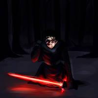 Kylo Ren | Star Wars | Speedpaint by KitsuneZakuro