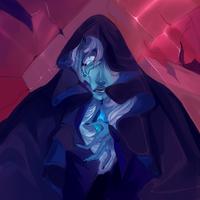 DIAMONDS ARE FOREVER//BLUE DIAMOND [SU SPEEDPAINT] by KitsuneZakuro