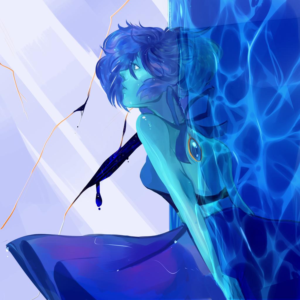Lapis Lazuli   Speedpaint by KitsuneZakuro