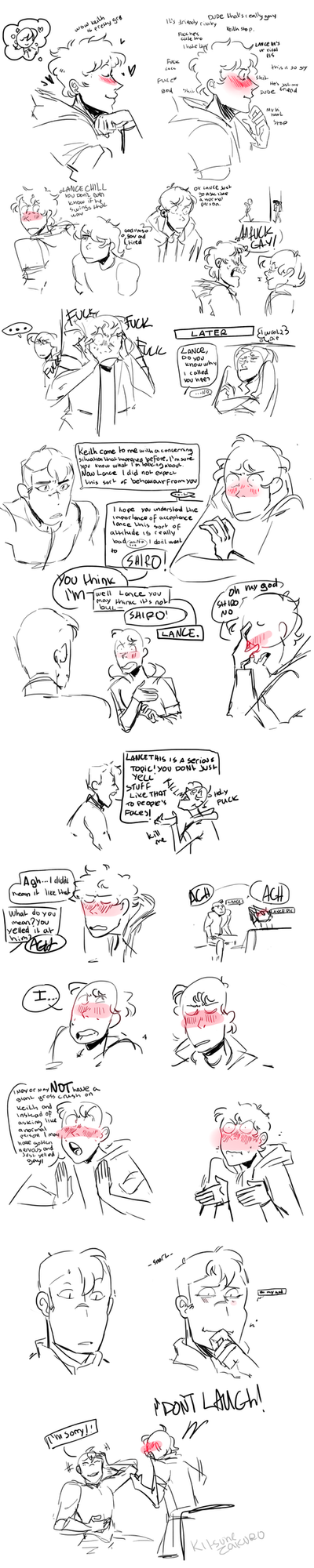 Tfw u yell gay at ur cursh by KitsuneZakuro